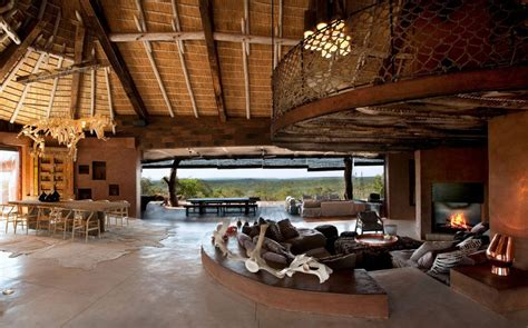 south villa with cave like interiors and observatory