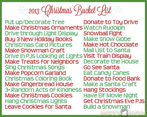 Fun Christmas Bucket List Ideas + Printables Gel Polish No Light Deck Lighting Unlimited Waterproof Recessed Solar Led Lights Outdoor Family Room Defiant Bulbs For Trucks 12 Volt