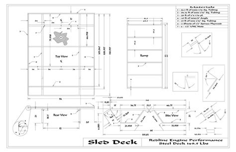 Diy Sled Deck Plans by Sled Deck Plans Plans Diy Free Wooden