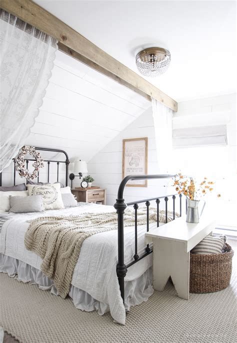 Fall Bedroom + Fall Into Home Tour  Love Grows Wild