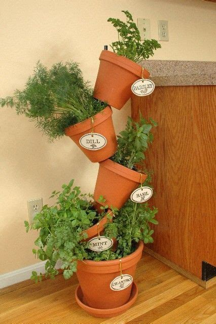 25+ Best Ideas About Indoor Herb Planters On Pinterest