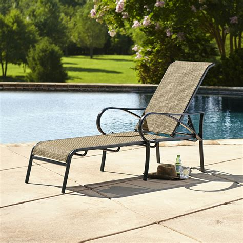grand resort oak hill sling chaise lounge limited availability outdoor living patio