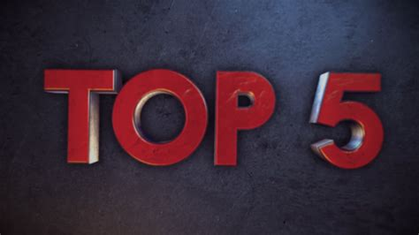 Top 5 Free 3d Countdown Template  After Effects Free Template Youtube