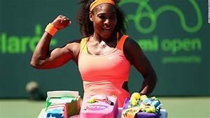 Serena Williams wins 700th WTA match at Miami Open - CNN.com