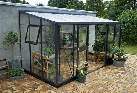 juliana la maison du jardin dim 439 x 221 x 245 cm serre de jardin adosse de trs haute qualit