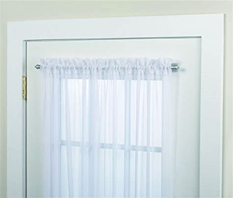 kenney magnetic window curtain rod home supplies