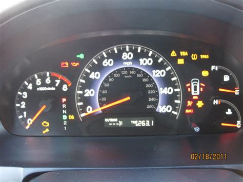 Malfunction Indicator L Honda City by Honda Odyssey 2011 Engine Light And Vsa Light On Autos Post