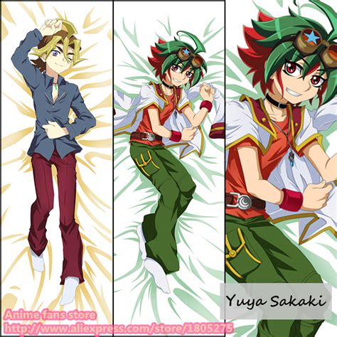 anime yugioh yuya sakaki japanese pillowcase pillow cover decorative hugging in