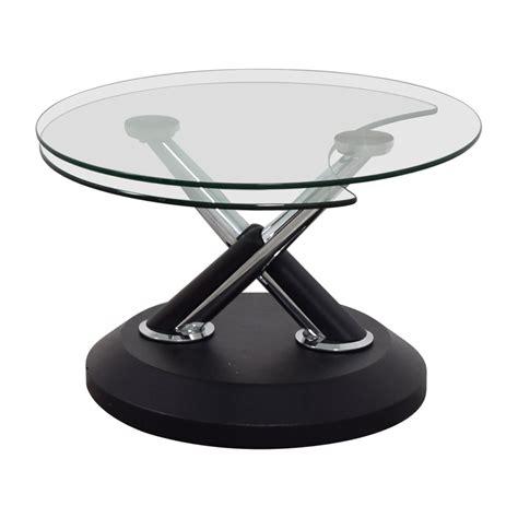 90% Off  West Elm West Elm Glass Swivel Coffee Table  Tables. Bright Desk Accessories. Cool Student Desks. White Drawer Cabinet. Replacement Drawer Slides For Dresser. Cottage Desk White. Small Teak Desk. Ikea Gerton Desk. Metal Tool Box Drawers