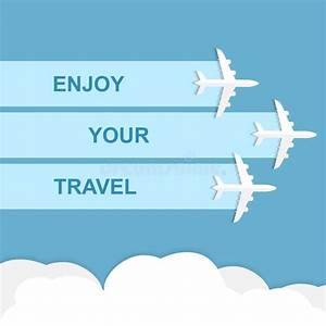 Enjoy your travel concept stock vector. Illustration of ...