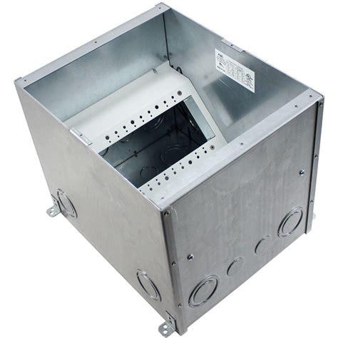 fsr fl 500p 10 b ul listed floor box 10 quot conference room av