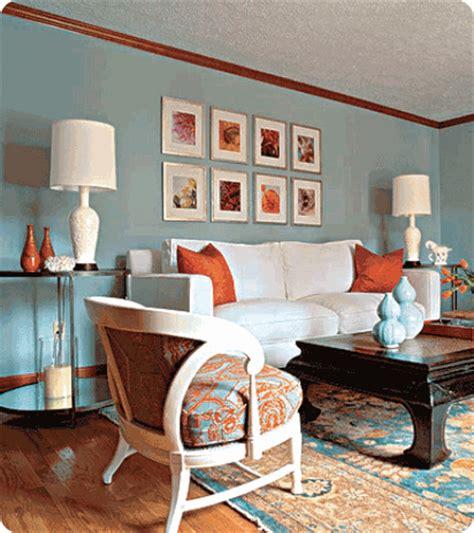 Color Spotlight Orange With Blue  Centsational Style