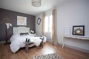 Ideen Schlafzimmer Farbe : 65 wand streichen ideen muster streifen und struktureffekte ~ Markanthonyermac.com Haus und Dekorationen