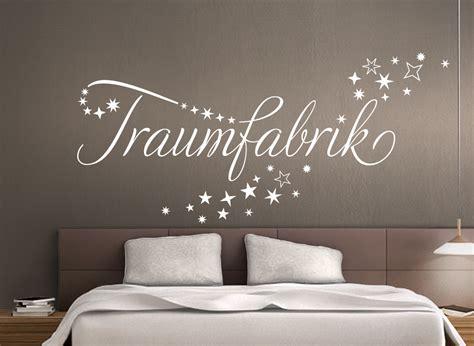 "Wandtattoo Zitat ""traumfabrik"" Im Sternschweif W708"