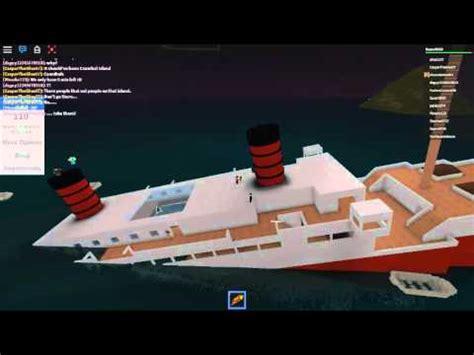 must escape the ship roblox sinking ship simulator