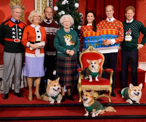 Royal Family Rocks Ugly Christmas Sweaters For A Good Cause (photo)