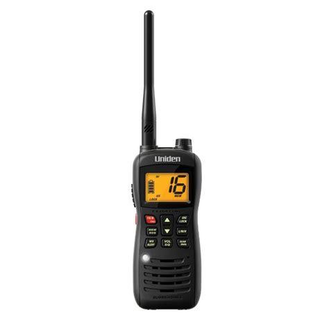 Boat Hand Radio uniden mhs126 vhf marine radio boat handheld 2 way noaa