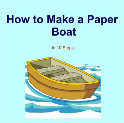 How To Make Paper Boat Download by Cz Canoe Paper Boat