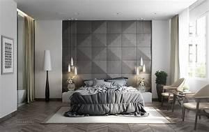 Schlafzimmer Design Grau : 1001 ideen f r schlafzimmer grau gestalten zum entlehnen ~ Markanthonyermac.com Haus und Dekorationen