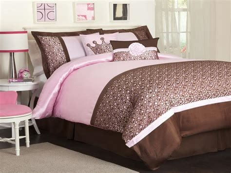 Pink And Brown Bedroom Ideas