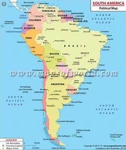 South American Countries, Countries in South America