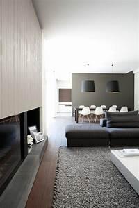 Wandfarbe Für Esszimmer : die graue wandfarbe 43 interieur ideen damit ~ Markanthonyermac.com Haus und Dekorationen