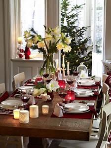 Esstisch Weihnachtlich Dekorieren : tischdekoration f r weihnachten zum selbermachen ~ Markanthonyermac.com Haus und Dekorationen