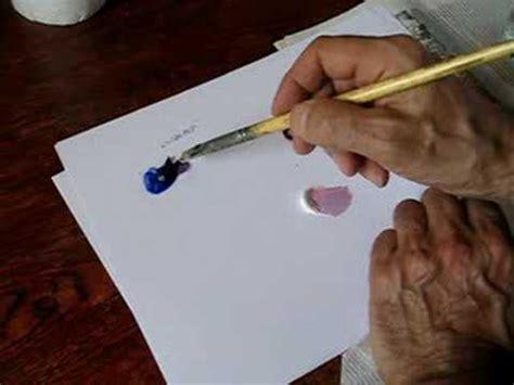 cours de peinture comment faire du violet