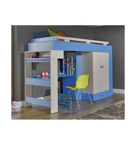 lit combin 233 bureau enfant libellule bleu mobiler d enfant mobilier design