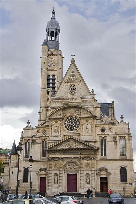 201 tienne du mont is a church in located on the montagne sainte genevi 232 ve in