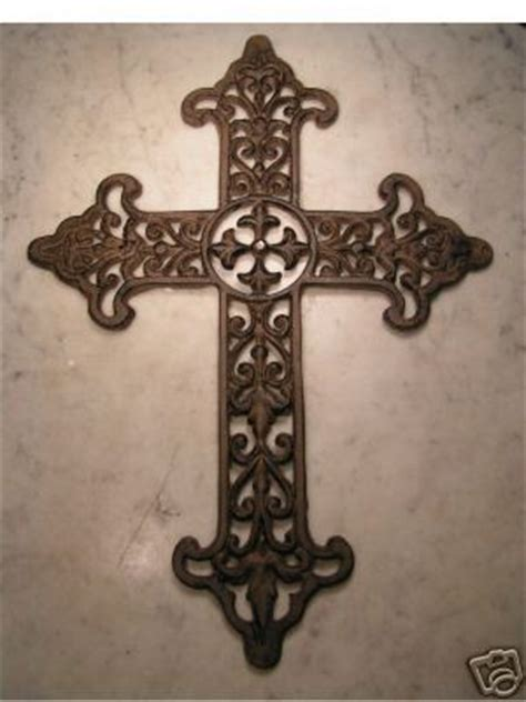New Big Cast Iron Metal Wall Decor Cross Hanging Large Art. Buffet Table Decor. Laundry Room Sinks. Living Room Arm Chair. Wooden Wall Art Decor. Decorative Styles Interior Design. White Room Darkening Curtains. Round Decorative Tray. Ocean Bedroom Decor