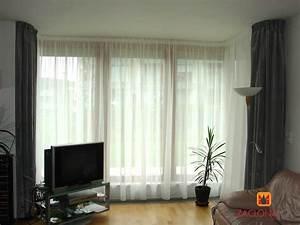 Vorhänge Wohnzimmer Bilder : heimtex ideen ~ Markanthonyermac.com Haus und Dekorationen