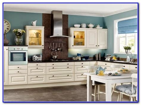 Popular White Paint Colors For Kitchen Cabinets Painting
