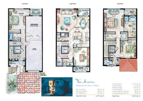 storey townhouse designs studio design gallery best 3 story townhouse floor plans town plans