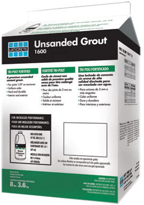 grout cement 1600 unsanded grout laticrete international inc