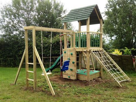 Add A Pull Up Bar On The Kids Climbing Frame
