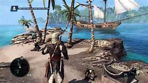 PS4 - Assassin's Creed 4 Open World Gameplay - YouTube