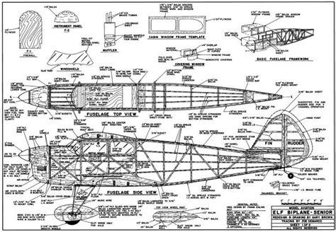 Elf Boat Plans by Elf Biplane Senior 60in Plans Aerofred Download Free