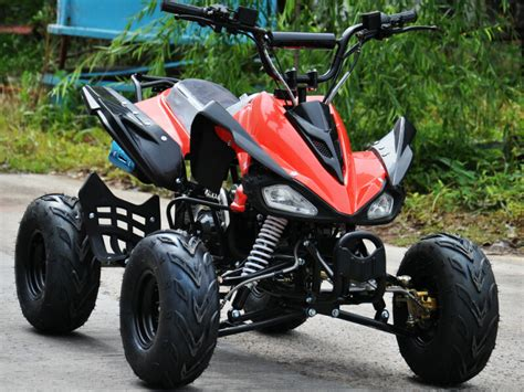 Interrogator 125cc Quad Bike 4 Stroke Electric Start With