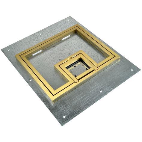 fsr fl 500p b c ul cover w 1 2 quot brass flange lift door for fl 500p conference room av