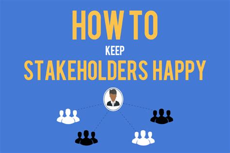 Back To Basics (part 5) How To Keep Project Stakeholders