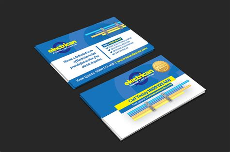 Electrician Business Cards Templates Free