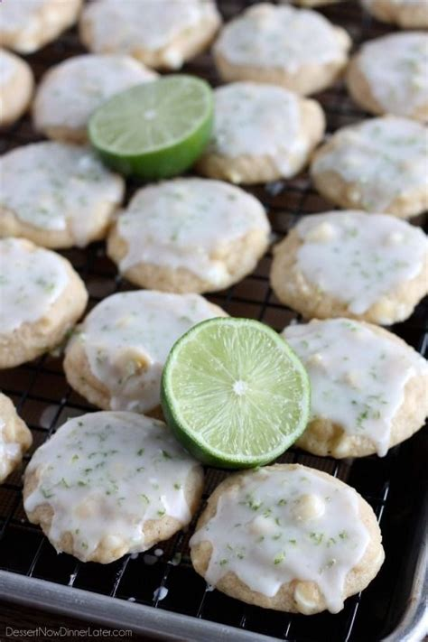 key lime cookies dessert now dinner later check out all kinds of cool recipes visit http