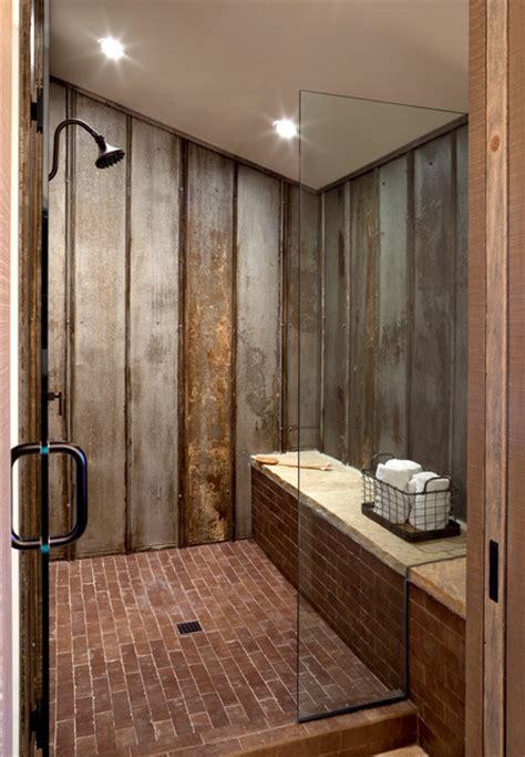 castle rock farmhouse chic bunk bath shower farmhouse bathroom by dragonfly designs