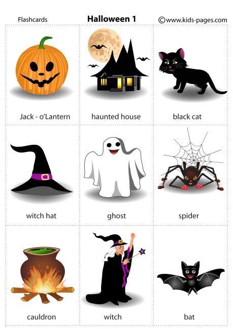 Halloween 1 Flashcard