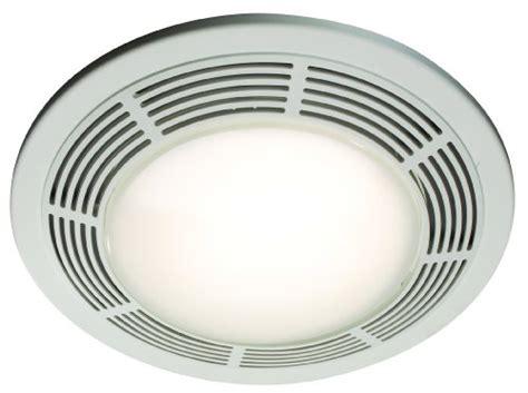 bathroom fans nutone 8664rp 100 cfm 3 5 sones designer fan light white grille with glass