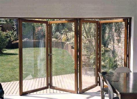 wooden bi folding patio doors sunroom and folding patio doors