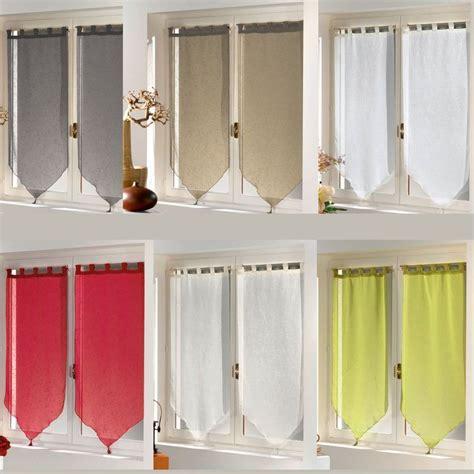 paire de rideaux fen 234 tre largeur 90 cm hauteur 160 cm finition pointe