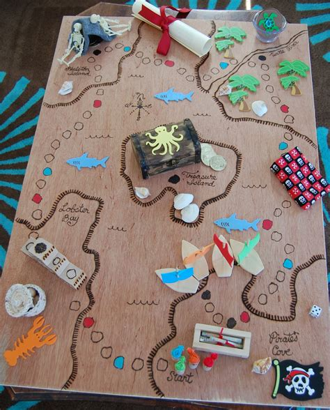 """""""C"""" is for Crafty: Pirate Board Game"""