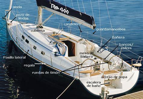 Como Se Dice Catamaran En Ingles by Singladuras Nauticas Partes Del Barco Barcos Naves En